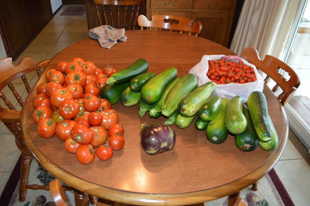 Garden Produce from Grandma