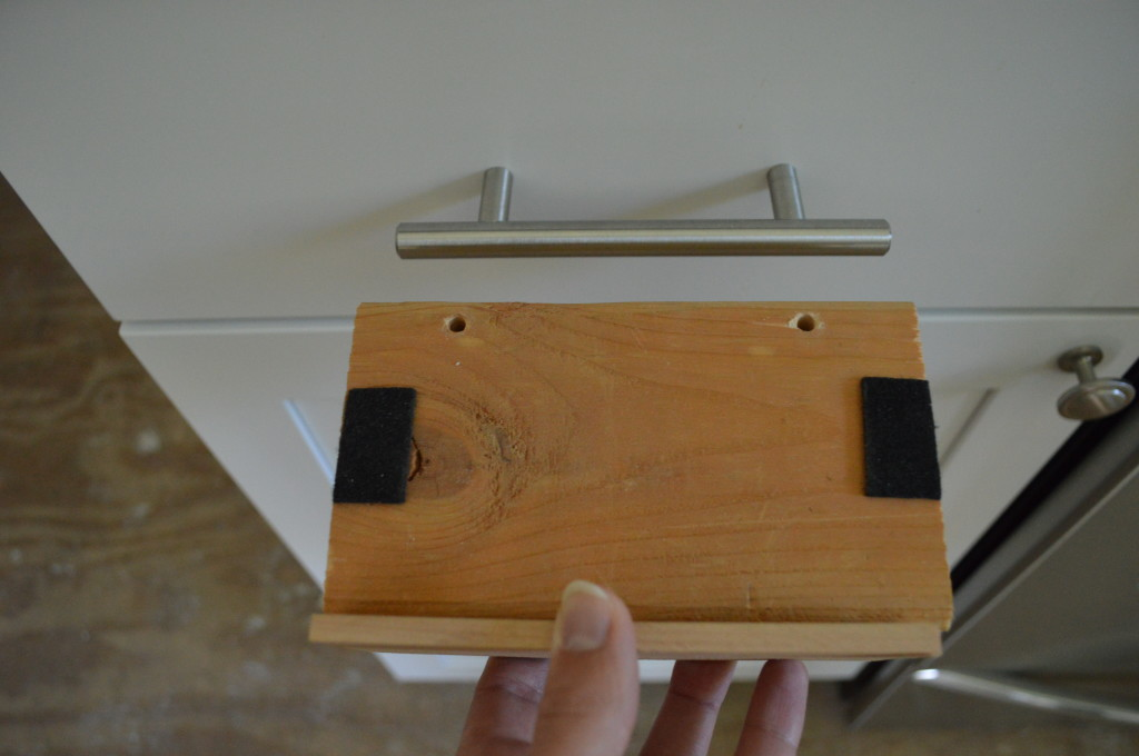 Jig For Mounting Cabinet Hardware 4