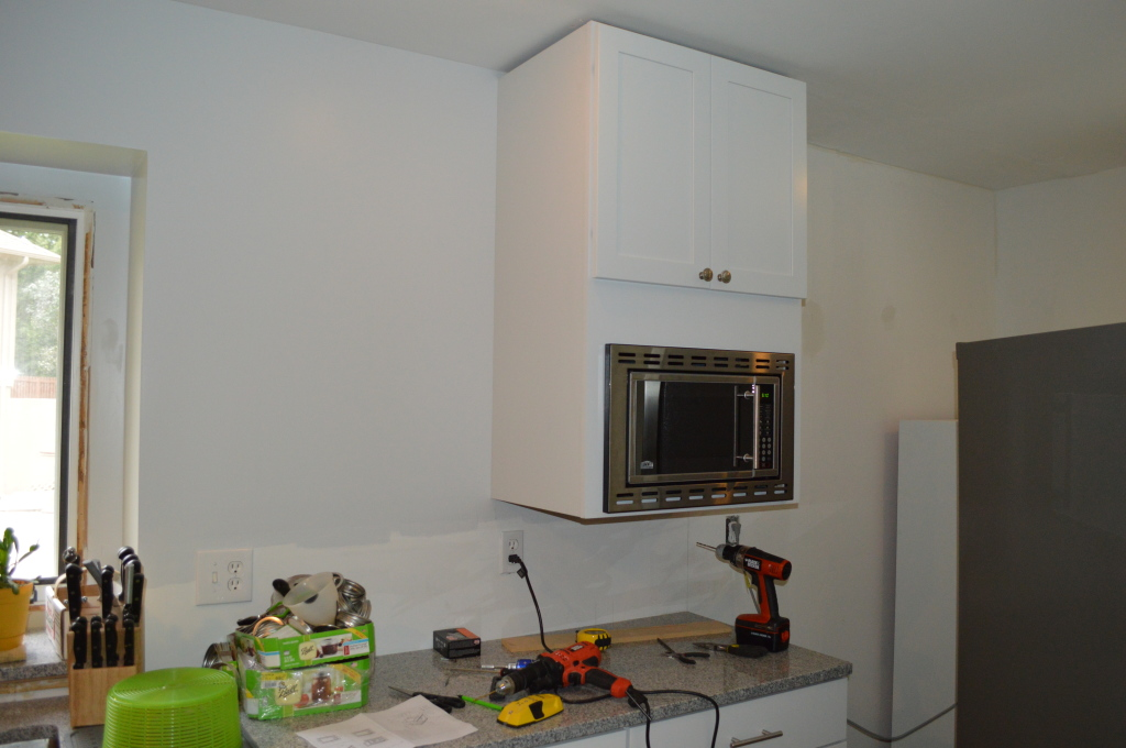 Microwave Cabinet Hang On Wall 2