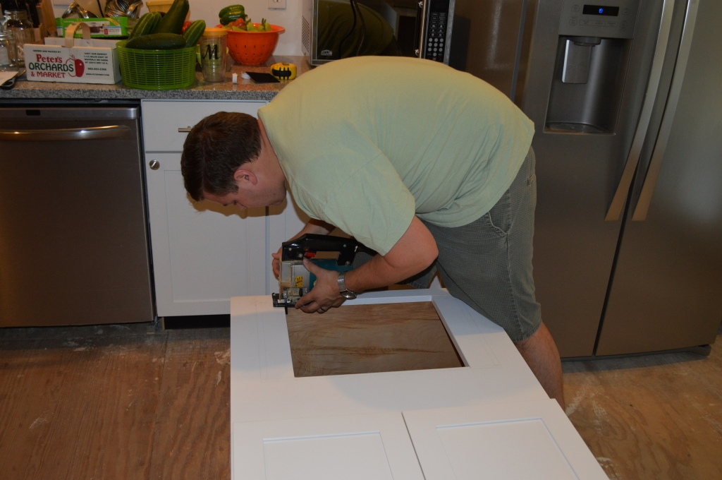 Trimming Microwave Cabinet to Fit