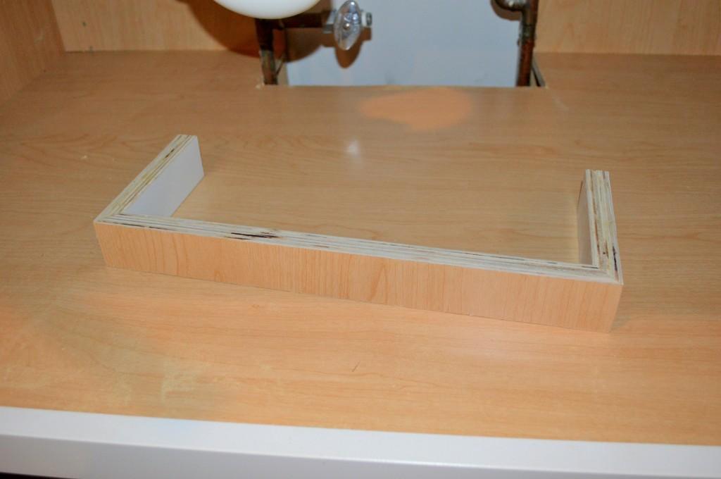 Under Sink Cabinet Work
