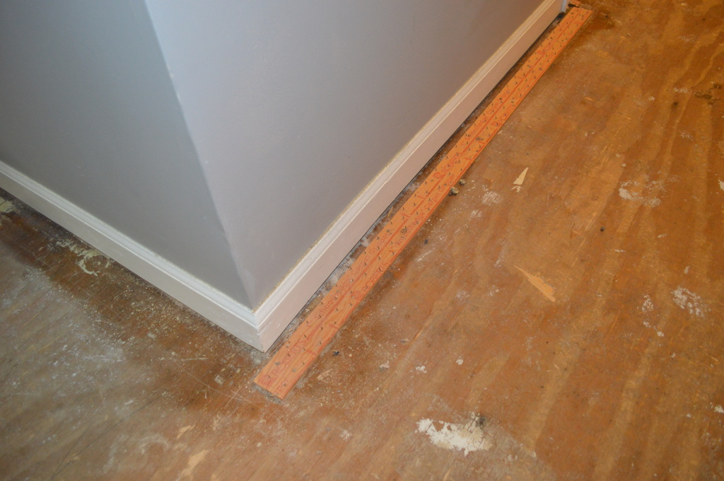 Demo Flooring Removing Carpet Tack Strips
