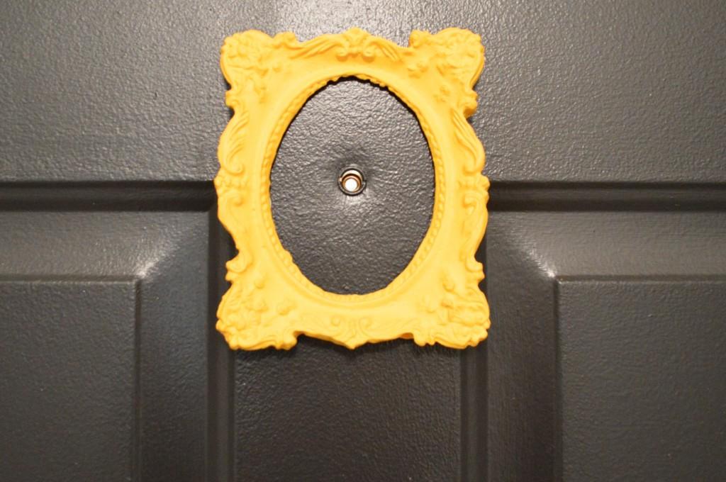 Door Peephole Frame