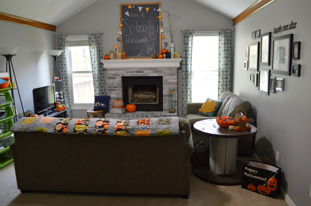 Halloween Decor Living Room