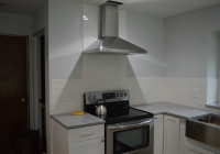 Installed Range Hood in Kitchen 9