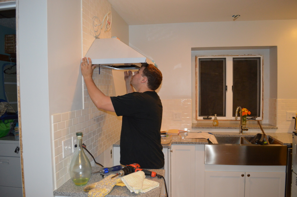 Mounting Range Hood in Kitchen 5
