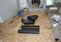 Preparing to Lay Engineered Hardwood Flooring