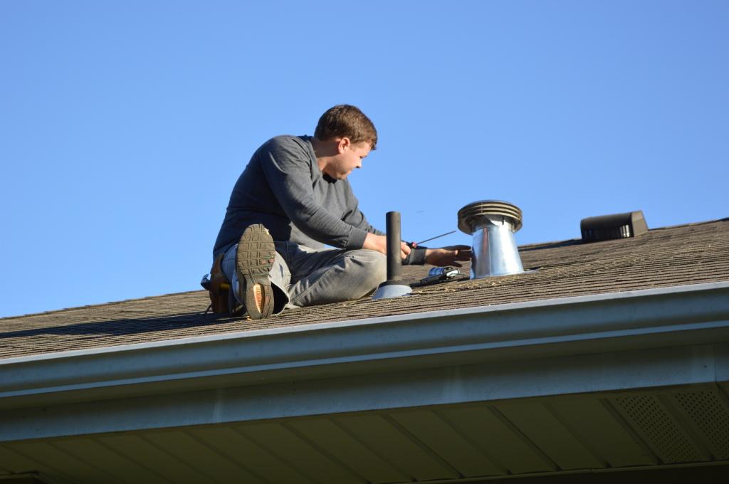 Venting Range Hood to Roof 8