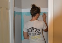 Painting Coat Closet 2