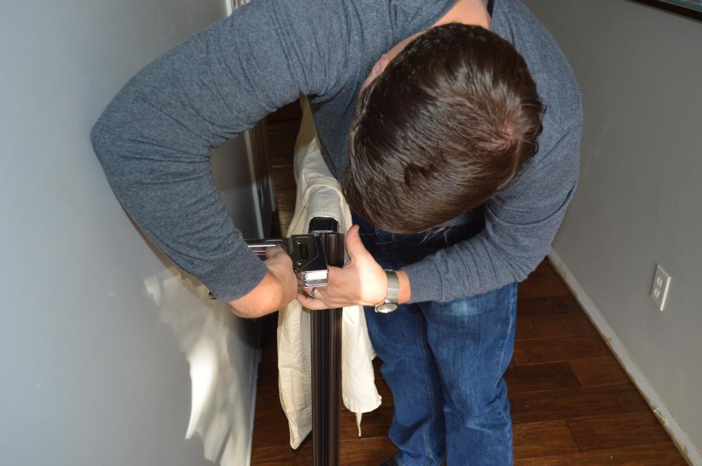 Removing Old Weather Strip on Door 6