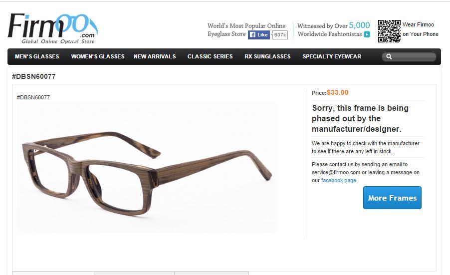 Wyatt's firmoo glasses