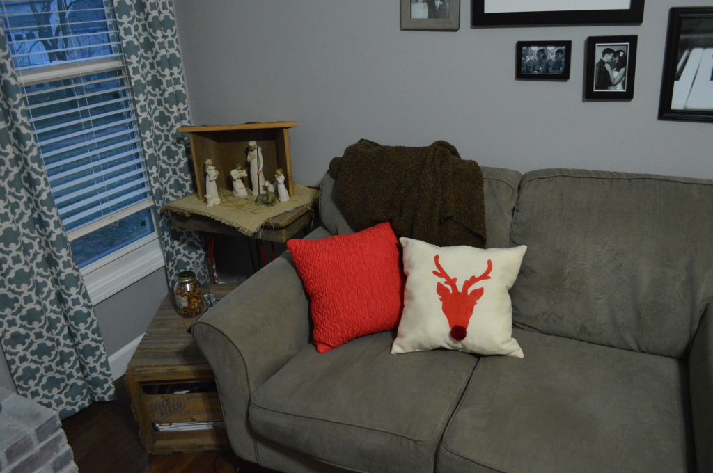 Christmas Decor Couches