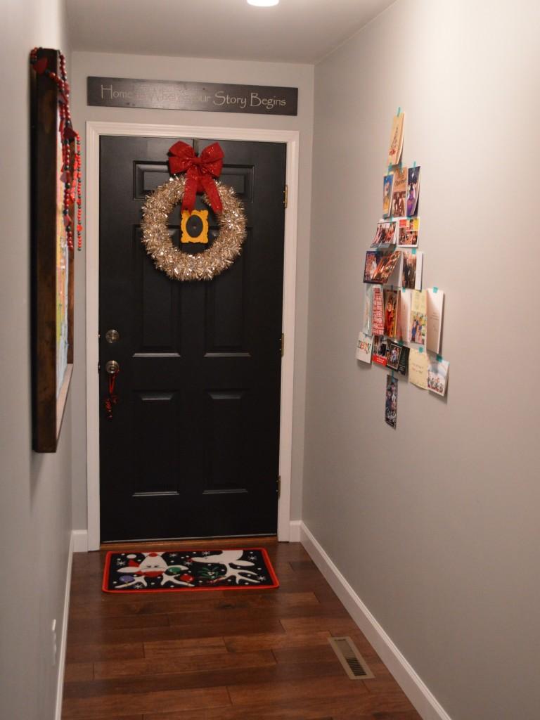 Christmas Decor Entryway