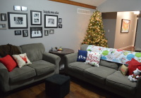 Christmas Decor Living Room Couches