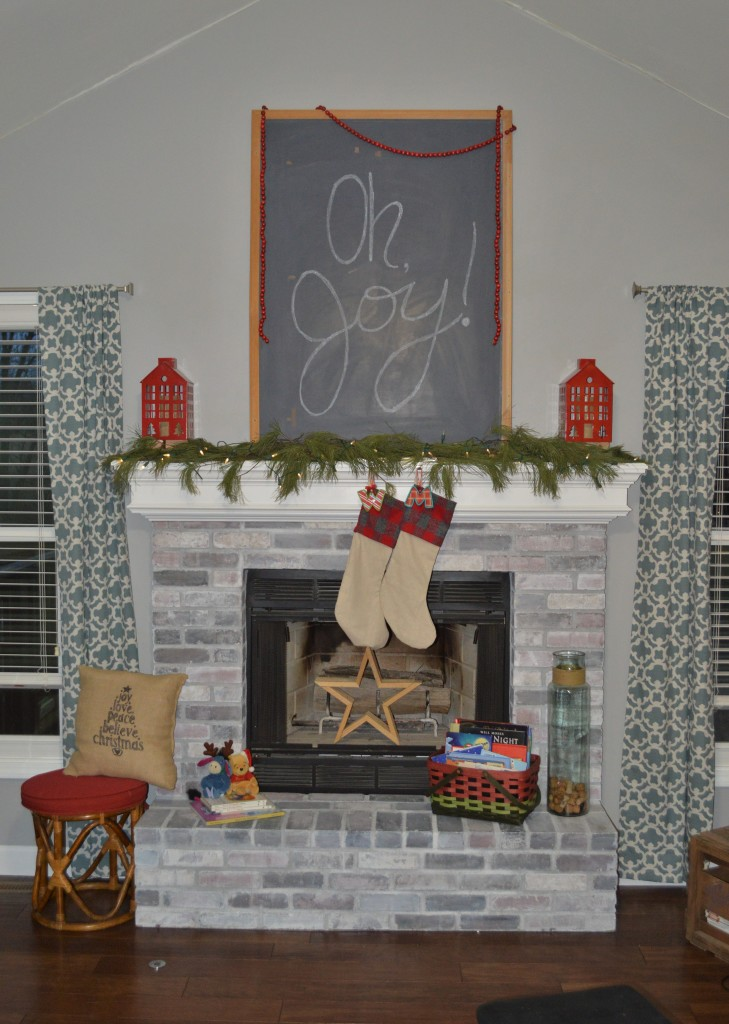Christmas Decor Mantle