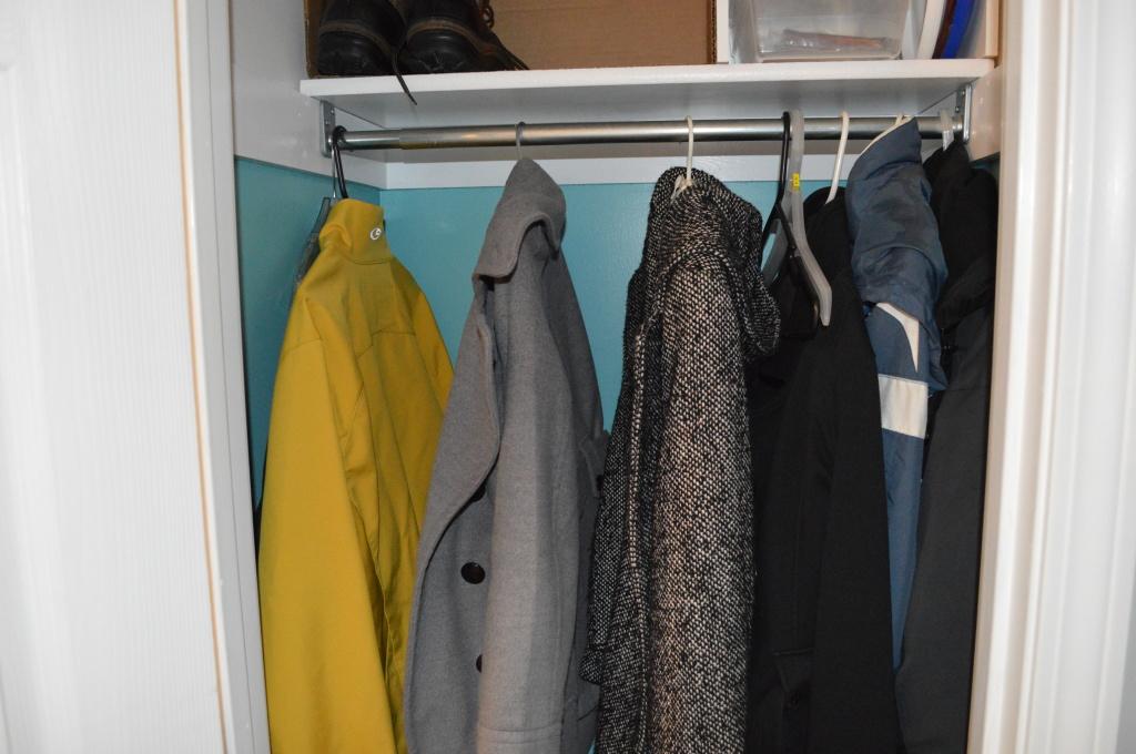 Entryway Coat Closet