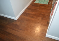Finished Entryway Hardwood Flooring