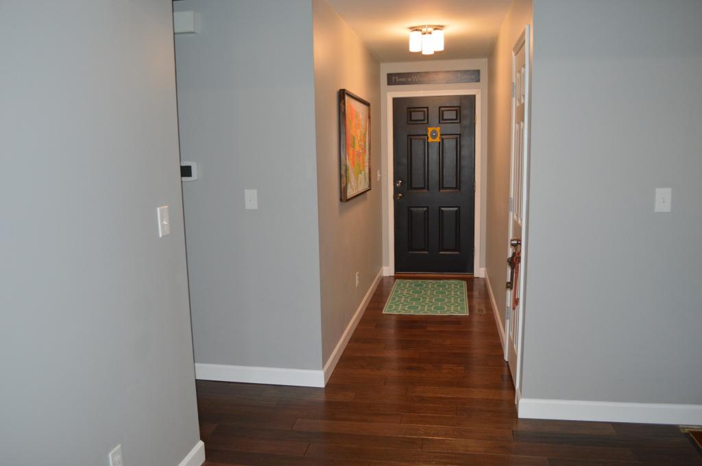 Finished Hardwood Flooring Entryway 2