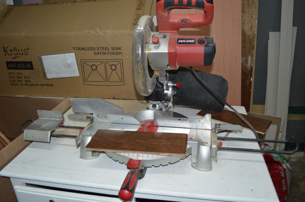 Flooring Chop Saw