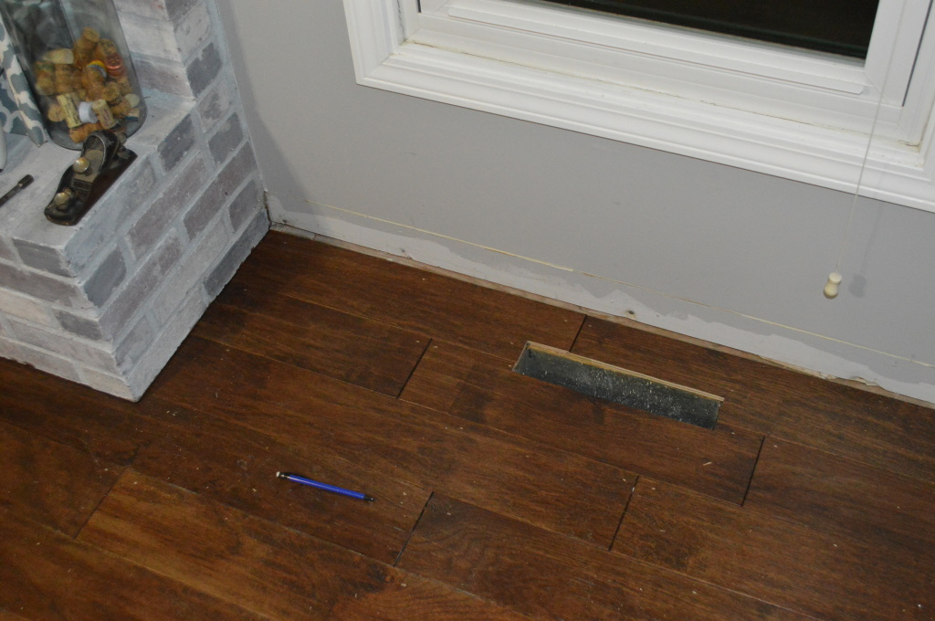 Flooring Fireplace Finished