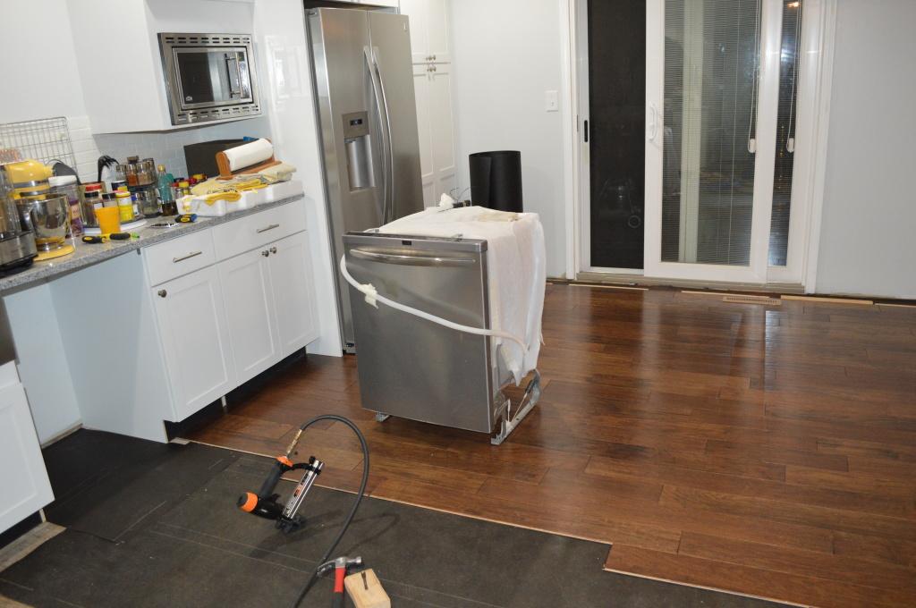Flooring Kitchen Dishwasher