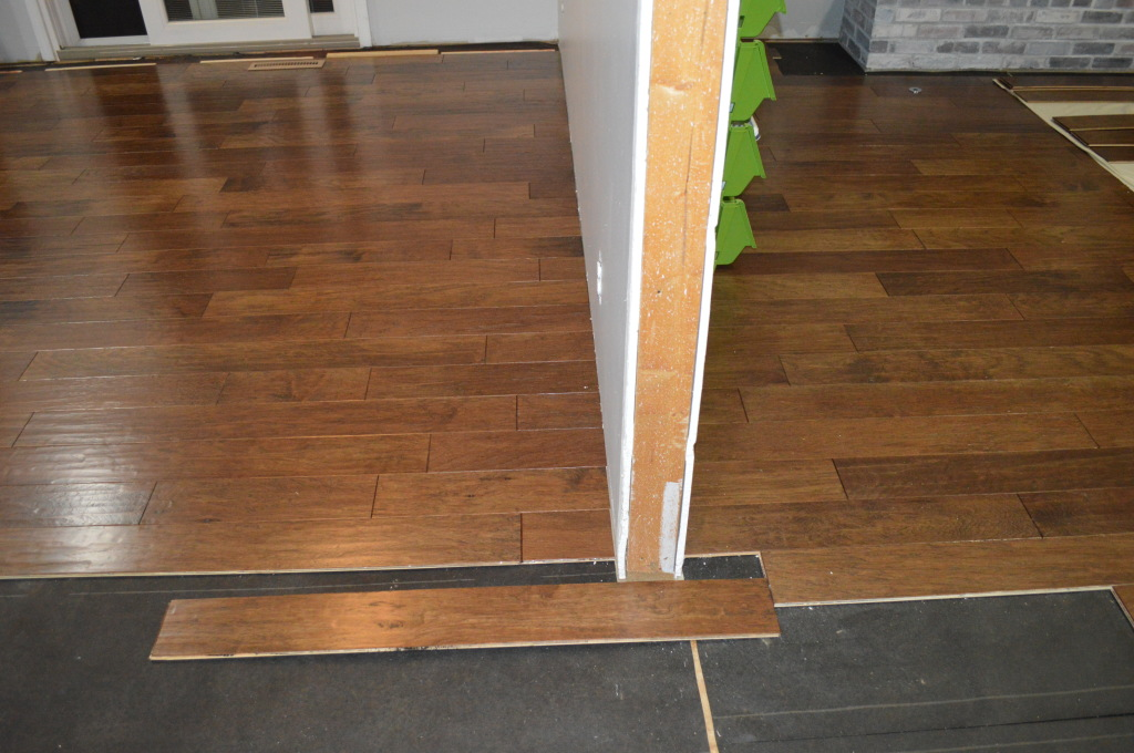Flooring Kitchen Doorway 2