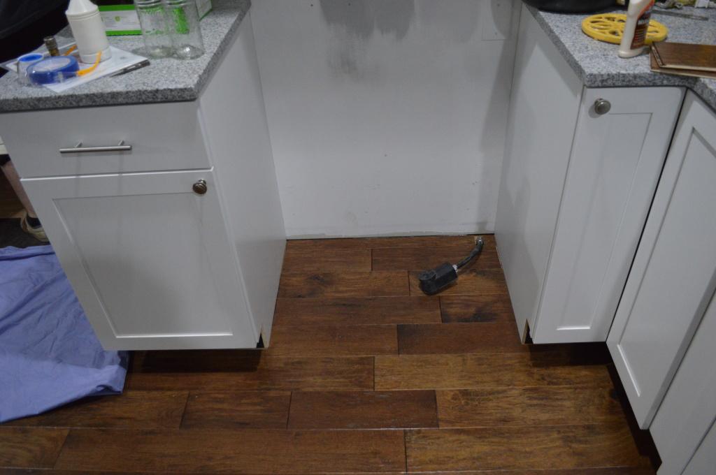 Flooring Kitchen Under Range 2