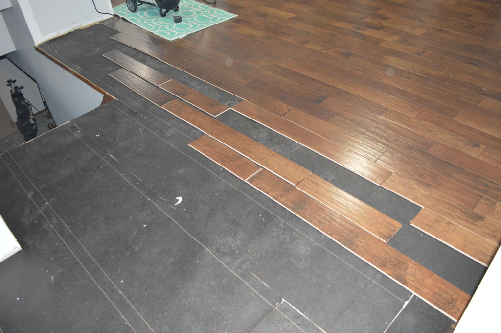 Flooring Laying Out Boards