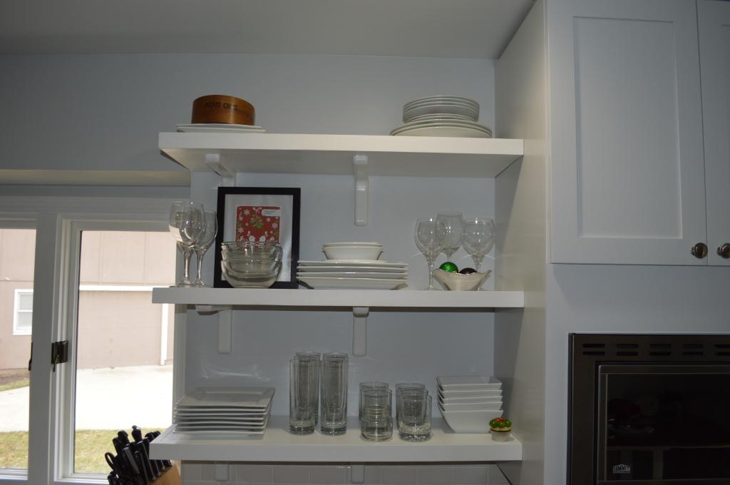 New Kitchen Shelves Christmas Decor