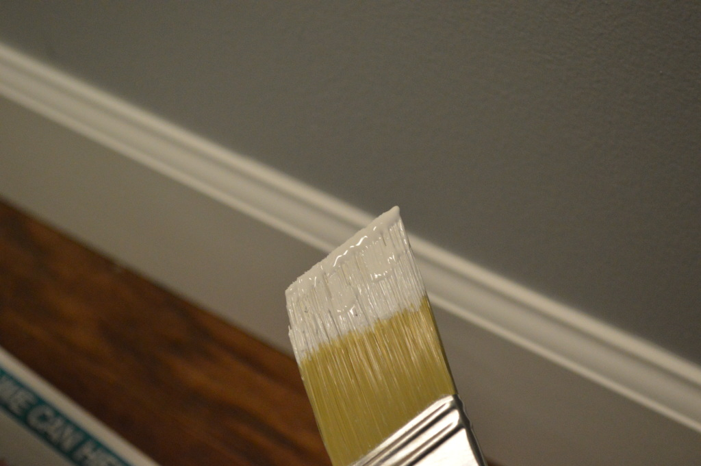 Painting New Baseboard Trim