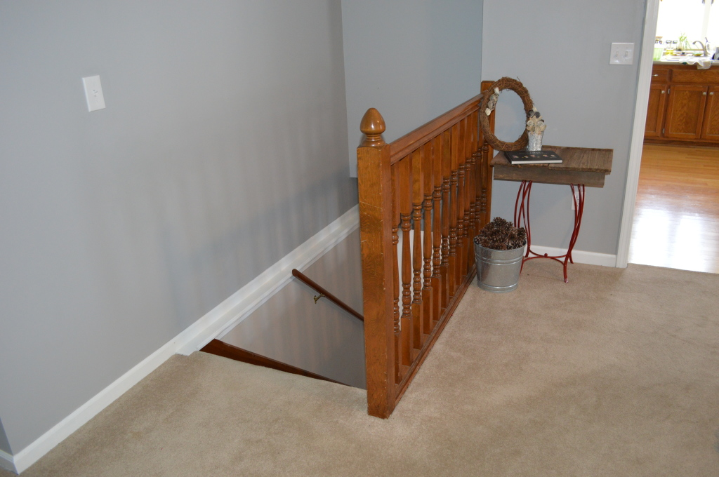 Stair Railing Before 3