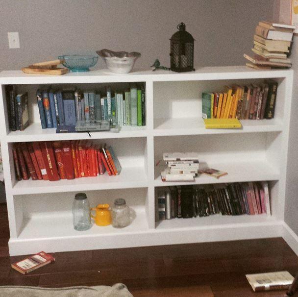 Bookshelves During