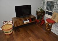 Christmas Decor TV Corner
