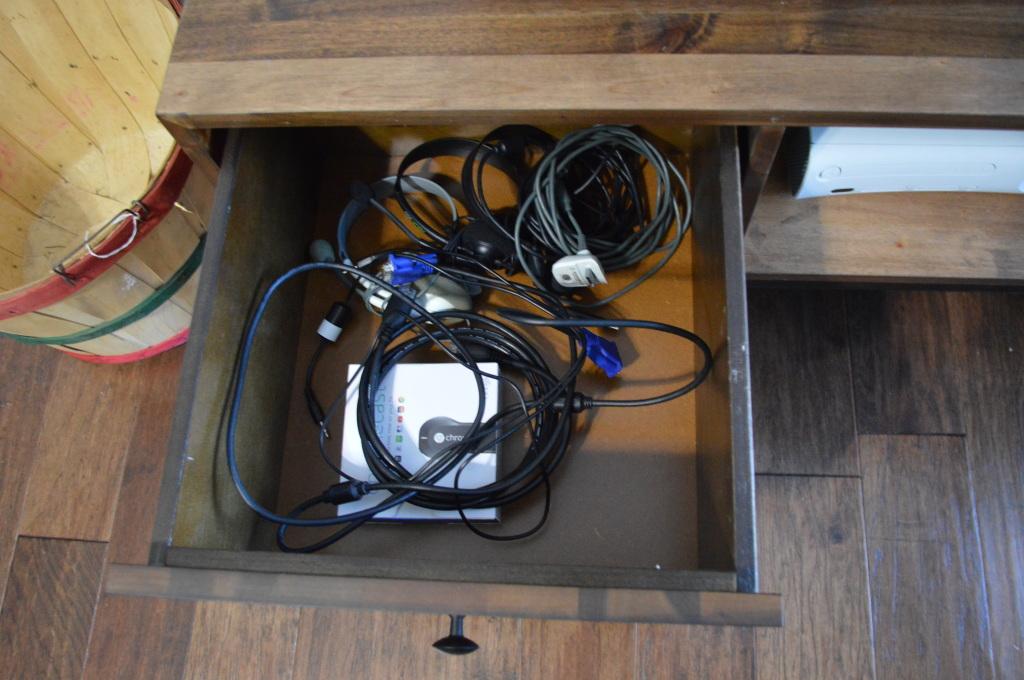 TV Stand Storage