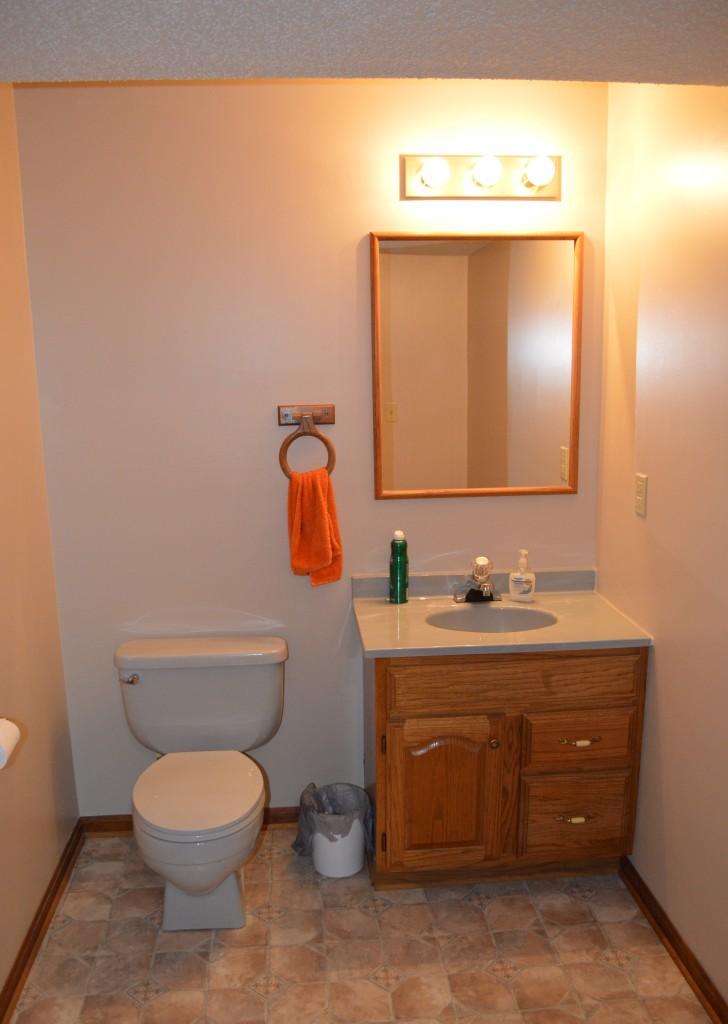 Basement Bathroom Before 2