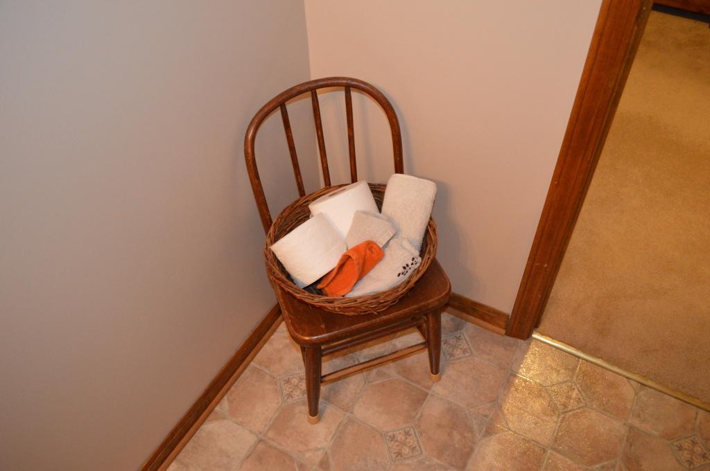 Basement Bathroom Guest Towels
