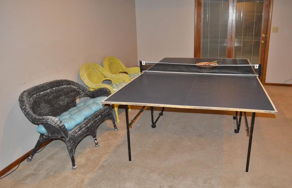 Basement PingPong Table