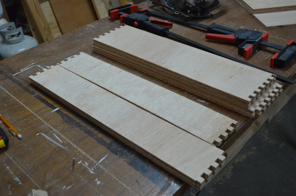 Building Pantry Drawer Joints 2
