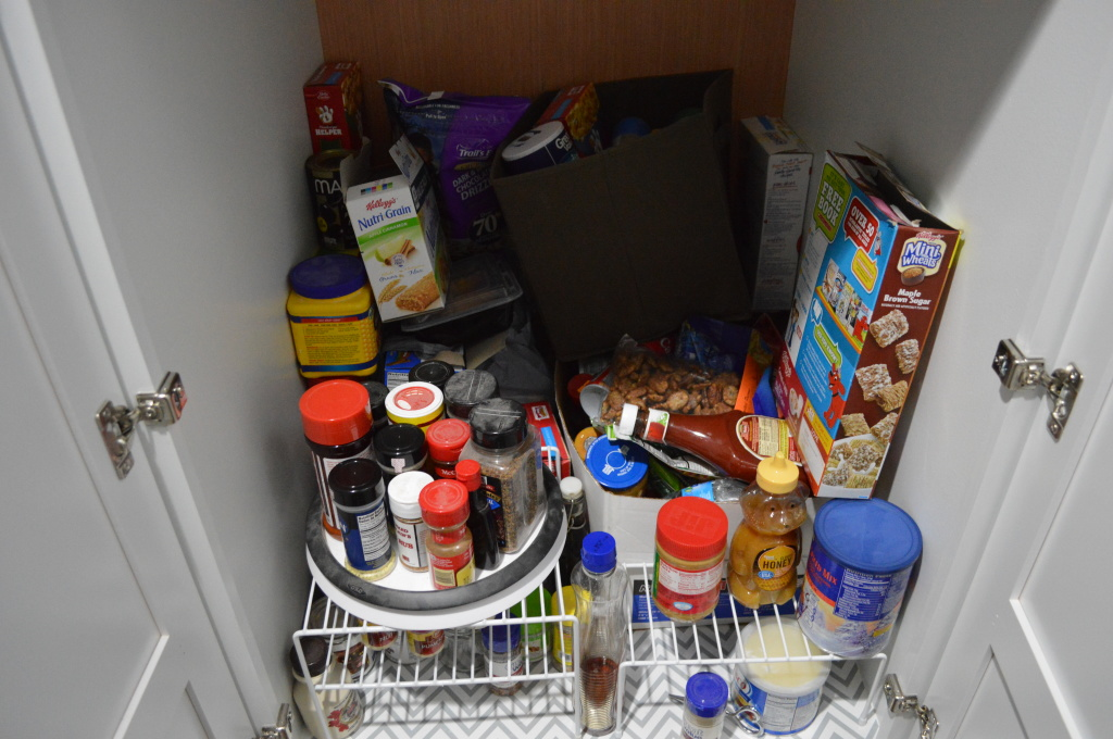 Pantry Food Mess 2