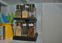 Relabeled Spice Rack