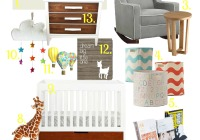 Beanie's Nursery mood board final