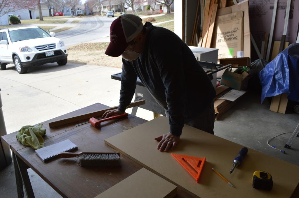 Building Corner Nook Shelves Planning