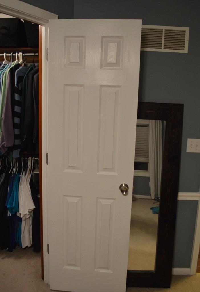 Clean Closet Door