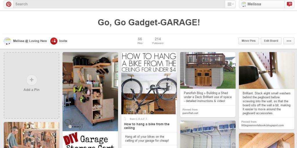 Garage Pins
