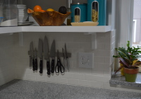 Hanging GRUNDTAL Knife Rack 12