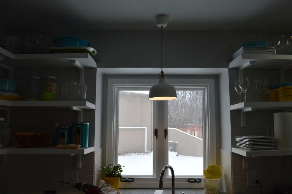 Ikea Pendant Light Over Sink 6