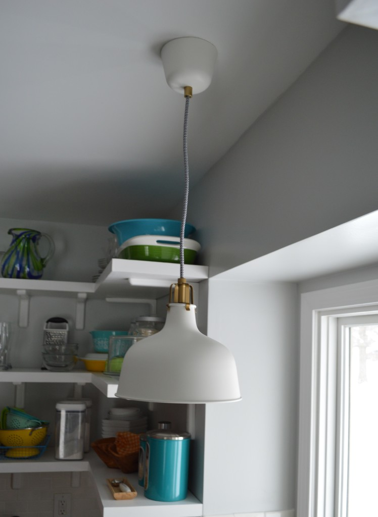 Ikea Pendant Light Over Sink