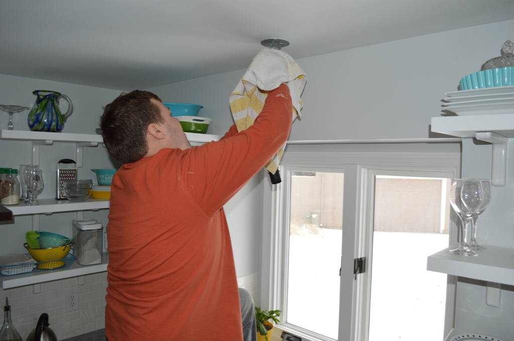 Installing Ikea Pendant Light Over Sink 10