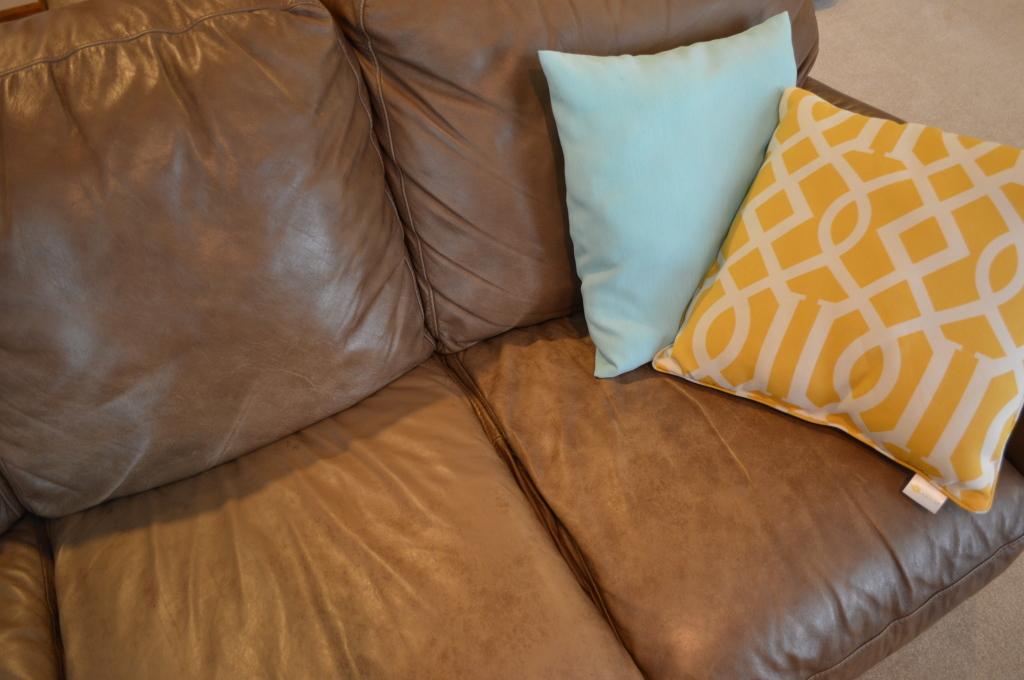 Basement Couch Pillows