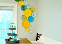 DIY Kitchen Plate Wall Pin